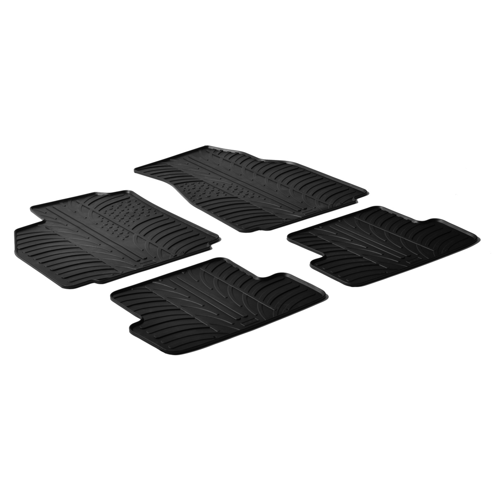 rubber mats for renault megane ii. Black Bedroom Furniture Sets. Home Design Ideas