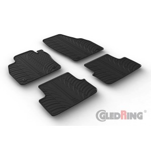 Rubber mats for Audi A1