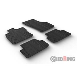 Rubber mats for Audi A3 (3 doors)
