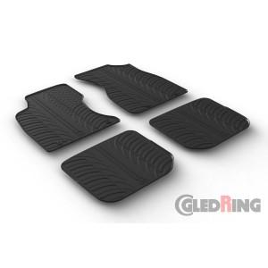 Rubber mats for Audi A4