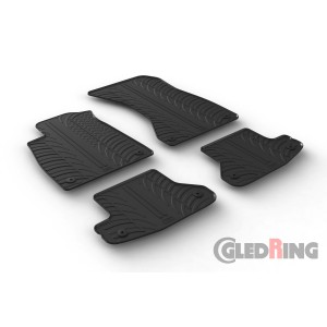 Rubber mats for Audi A5 Coupe