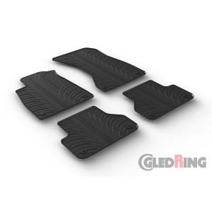 Rubber mats for Audi A5 sportback