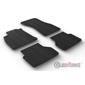 Rubber mats for Audi A6
