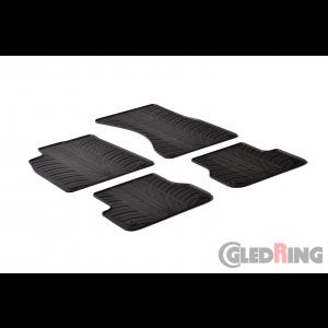 Rubber mats for Audi A6 Estate, Saloon