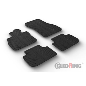 Rubber mats for BMW Seria 1