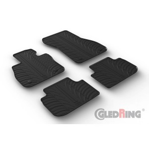 Rubber mats for BMW 2 Gran Coupe