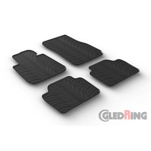 Rubber mats for BMW 3