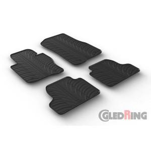 Rubber mats for BMW Serija 4 (automatic, Gran Coupe)