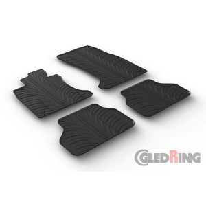 Rubber mats for BMW 5