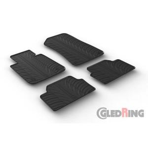 Rubber mats for BMW 1 (5 doors)