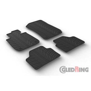 Rubber mats for BMW X1