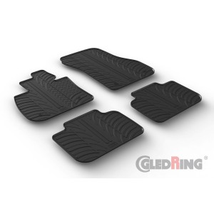 Rubber mats for BMW X2