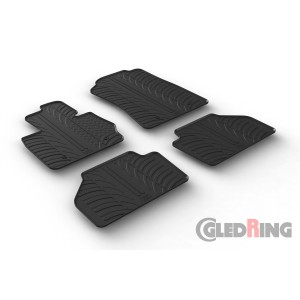 Rubber mats for BMW X3
