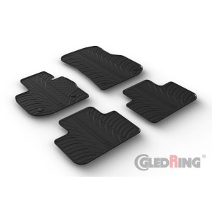 Rubber mats for BMW X4