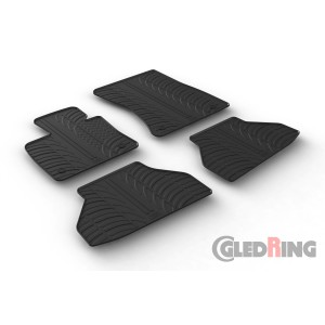 Rubber mats for BMW X6