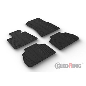Rubber mats for BMW X7 (automatic)