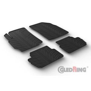 Rubber mats for Chevrolet Spark (5 doors)