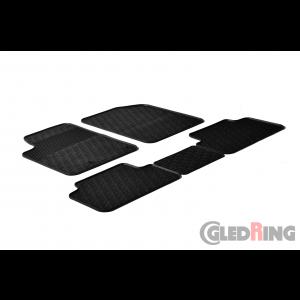 Rubber mats for Citroen Berlingo