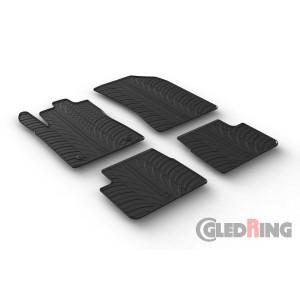 Rubber mats for Citroen C3/DS3 (5 doors)