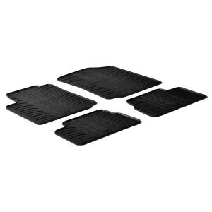 Rubber mats for Citroen C3