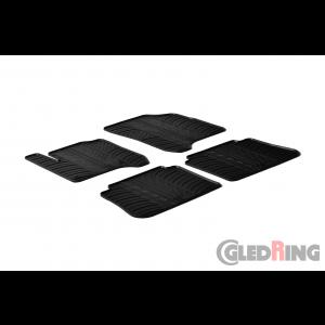 Rubber mats for Citroen C3 Picasso