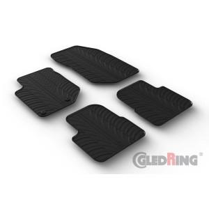 Rubber mats for Citroen C4