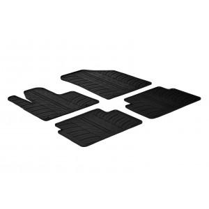 Rubber mats for Citroen C5