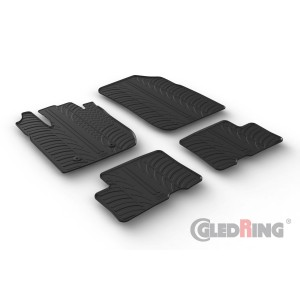 Rubber mats for Dacia Duster