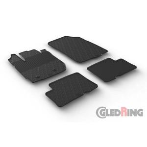 Rubber mats for Dacia Duster 4x4 FL