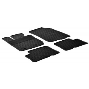 Rubber mats for Dacia Duster 4x4