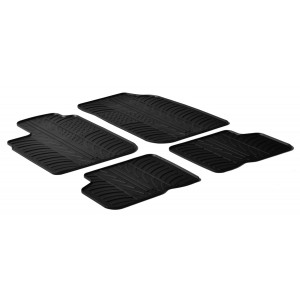 Rubber mats for Dacia Logan