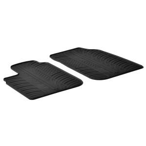 Rubber mats for Dacia Logan Pickup/Furgon