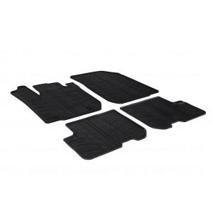 Rubber mats for Dacia Sandero