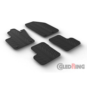Rubber mats for Fiat 500X