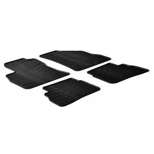 Rubber mats for Fiat Doblo (5 doors)