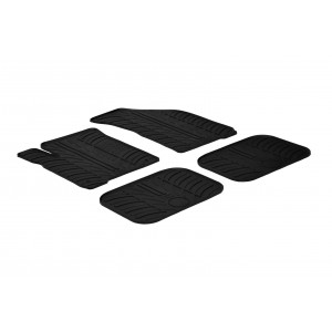 Rubber mats for Fiat Freemont