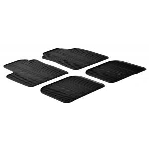 Rubber mats for Fiat Panda (5 doors)