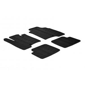 Rubber mats for Fiat Panda 5 doors