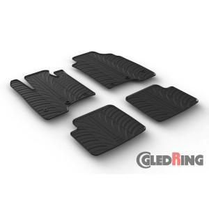 Rubber mats for Fiat PANDA/PANDA CROSS