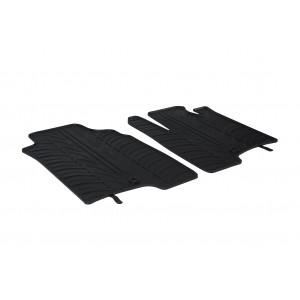 Rubber mats for Fiat Panda Van