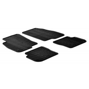Rubber mats for Fiat Punto (modif.)