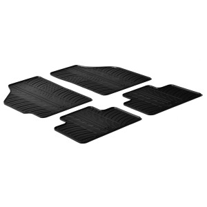 Rubber mats for Fiat Punto II
