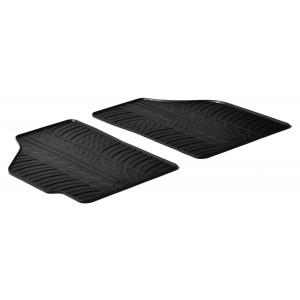Rubber mats for Fiat Punto Cargo II