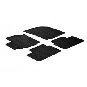 Rubber mats for Fiat Sedici