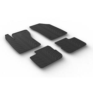 Rubber mats for Fiat Tipo sedan