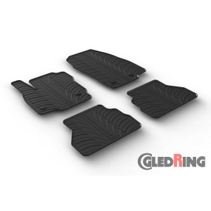 Rubber mats for Ford B-Max FL