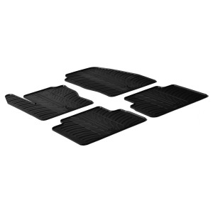Rubber mats for Ford C-Max (5 doors)