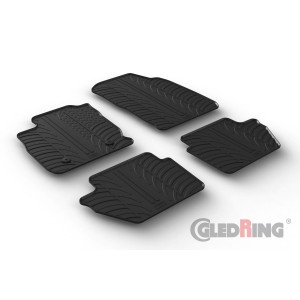 Rubber mats for Ford EcoSport
