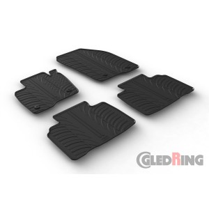 Rubber mats for Ford Edge