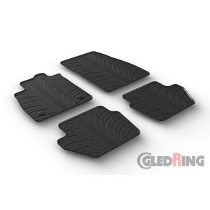 Rubber mats for Ford Puma